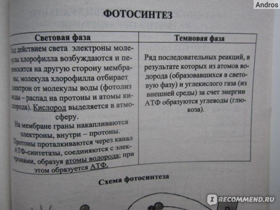 Биология в таблицах и схемах для школьников и абитуриентов. Онищенко А. В.  фото