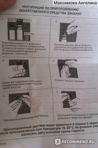Дерматотропные средства Astellas Pharma Europe B.V./Yamonouchi Зинерит фото