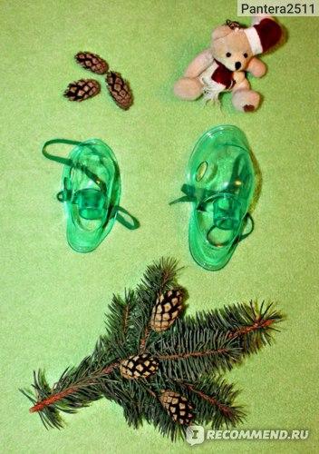 Набор комплектующих для компрессорных небулайзеров/ингаляторов Aliexpress CompMist household compressor Nebulizer mouthpieces accessories adult/child inhaler set  фото