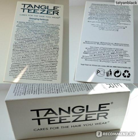 Щетка / расческа для волос TANGLE TEEZER Тангл Тизер Original Ориджинал