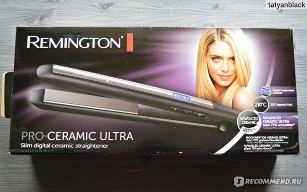 коробка от выпрямителя для волос Remington PRO-Ceramic Ultra (S5505)