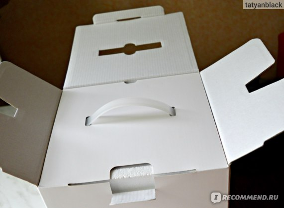 Xiaomi (Сяоми) Mi (Ми) отзыв на чайник электрический / интеллектуальный / умный Smart Electric Kettle Bluetooth (Смарт Электрик Кетл с Блютус) - коробка
