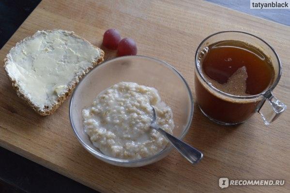 Мой завтрак, цикорий заварен кипятком из этого чайника