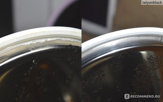 Xiaomi (Сяоми) Mi (Ми) отзыв на чайник электрический / интеллектуальный / умный Smart Electric Kettle Bluetooth (Смарт Электрик Кетл с Блютус) - до и после уксуса