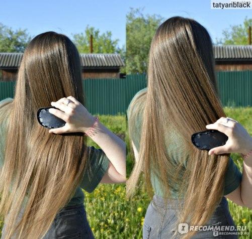 Щетка / расческа для волос TANGLE TEEZER Тангл Тизер Original Ориджинал: как я использовала ее на длинных волосах
