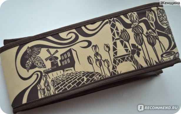 """Универсальный органайзер Все на местах """"Шоколадный Париж"""". Арт:1001002 фото"""