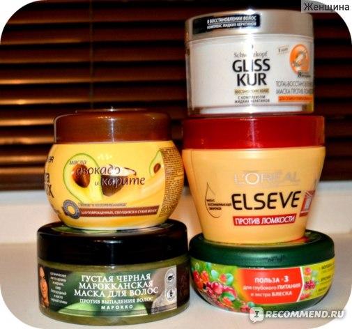 Маска от ломкости и сечения волос в домашних условиях 115