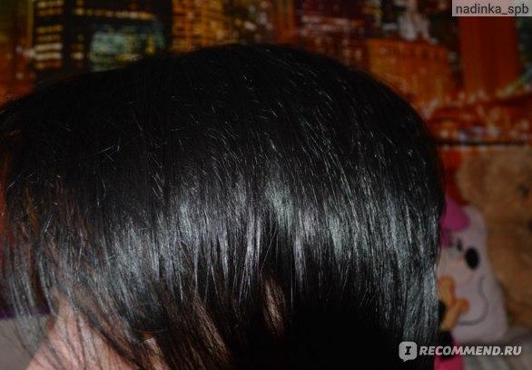 волосы до окрашивания, со вспышкой
