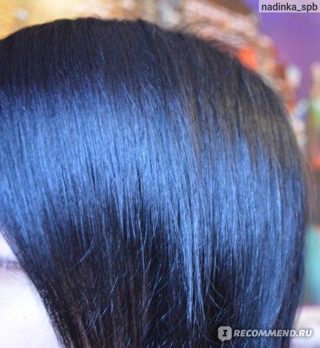 волосы после окрашивания, дневное освещение