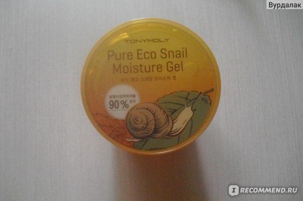 Гель Tony Moly Pure Eco Snail Moisture Gel фото