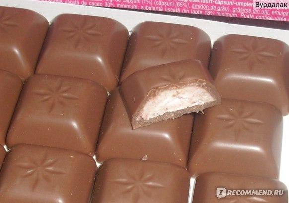 Шоколад Schogetten Yoghurt-Strawberry фото