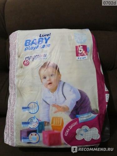 Подгузники-трусики Baby Care Lure!  фото