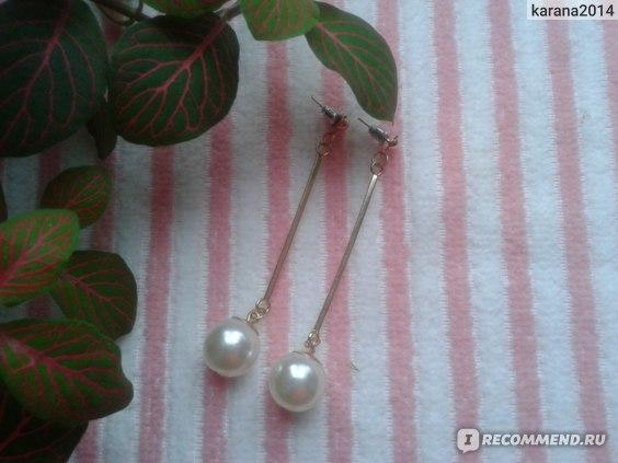 Серьги Aliexpress Korea-Noble-Lovely-Charming-Temperament-earrings-jewelry фото