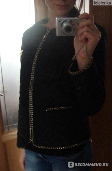 Куртка AliExpress Women vintage gold buckle epaulette pocket o-neck slim thin wadded jacket cotton-padded size M to 5XL biggest code фото