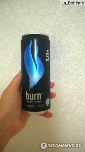 Энергетический напиток Burn Refreshing charge фото