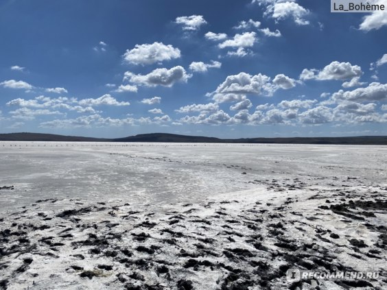 Чокракское розовое озеро крым