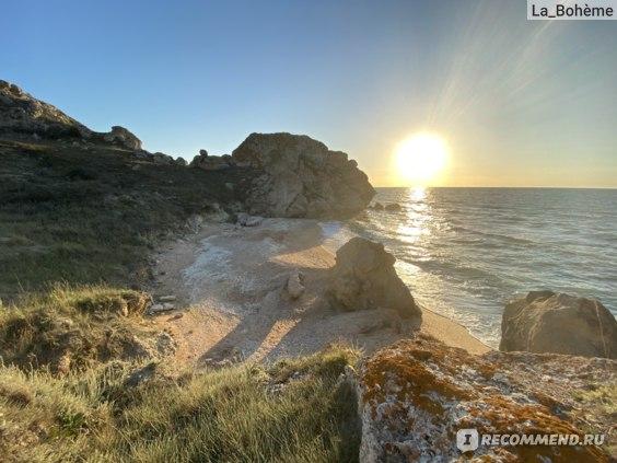 Крым Генеральские пляжи фото