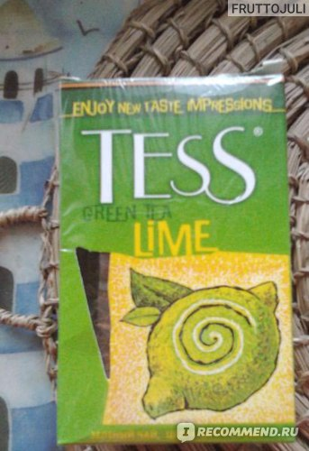 Чай зеленый Tess Green Tea Lame фото