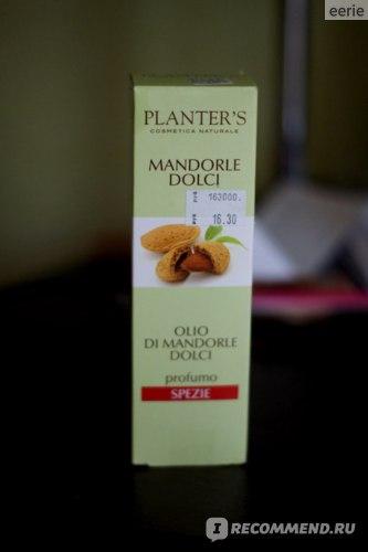 Масло для тела Planters sweet almond oil  фото