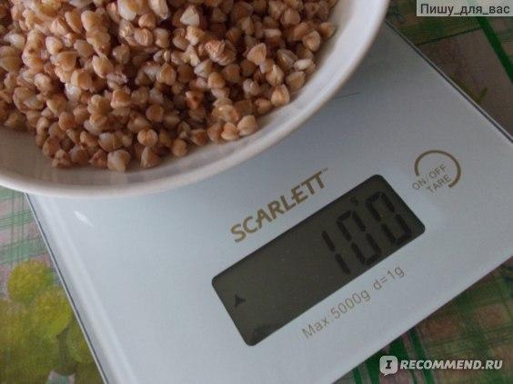 Сколько грамм гречки есть на гречневой диете