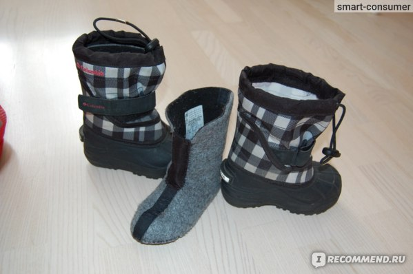 Сноубутсы Columbia Sportswear Powderbug Plus II Winter Boots - Waterproof фото