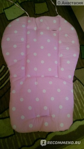 Аксессуары для колясок Aliexpress Baby Seat Cushion for Stroller Cotton Anti-Slip Seat Stroller Mat Chair Pad Cushion Seat Car Pad Baby Stroller Accessories фото