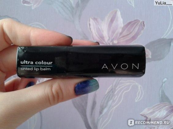 Бальзам для губ Avon Нежный цвет фото