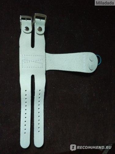 Накладки гимнастические Djuble skin Женские. На ремнях фото