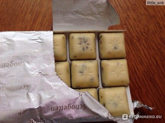 Молочный шоколад Schogetten Stracciatella фото