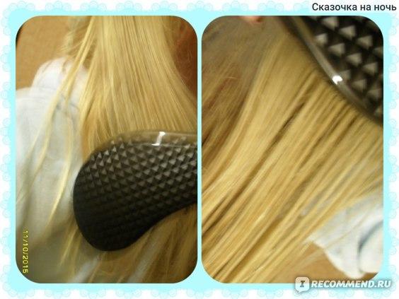 Массажная щетка Sibel D-MELI-MELO для распутывания влажных и сухих волос  фото