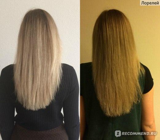 Рост волос за месяц.
