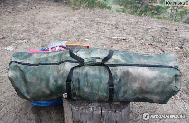 Кемпинговая палатка ЛОТОС 5 Мансарда - М (модель 2019 года) Отзыв