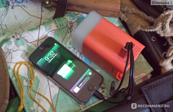 Фонарь ERGATE CUBE QUICK Power Bank Light  Отзыв