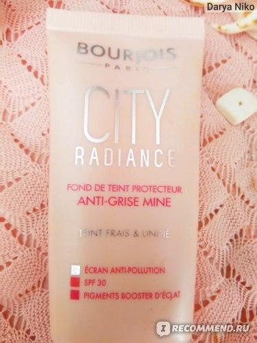 Тональный крем Bourjois city radiance фото