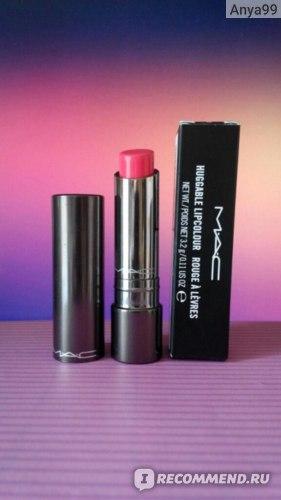 Губная помада MAC Huggable Lipcolour фото