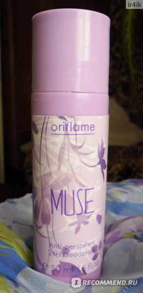 Дезодорант-антиперспирант Oriflame 24-часового действия Muse фото