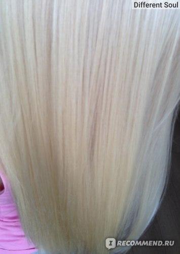 всего однажды осветленные волосы и постоянно тонируемые этим шампунем