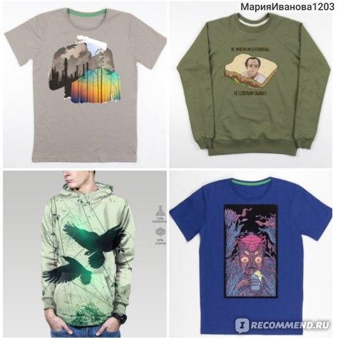 Сайт Мэриджейн - магазин дизайнерских футболок с принтами номер 1 фото