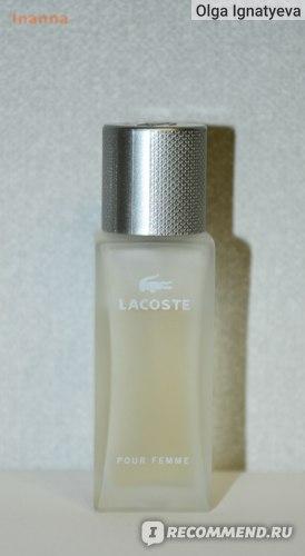 Флакон Lacoste Pour Femme Legere
