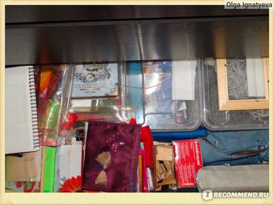Хранение разных вещей в одном ящике