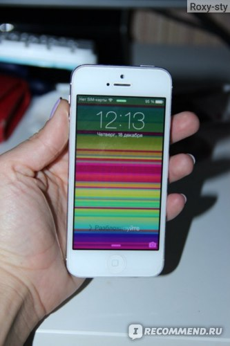 Смартфон Apple iPhone 5 фото