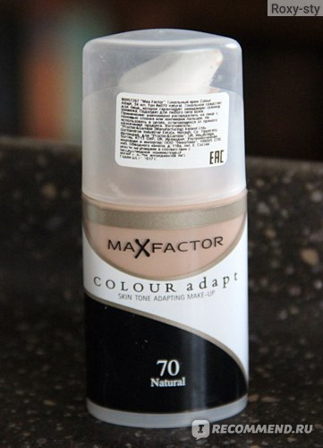 Тональный крем Max Factor Colour adapt фото