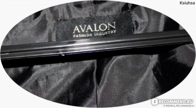 Пальто Avalon черное Артикул: 1612  фото