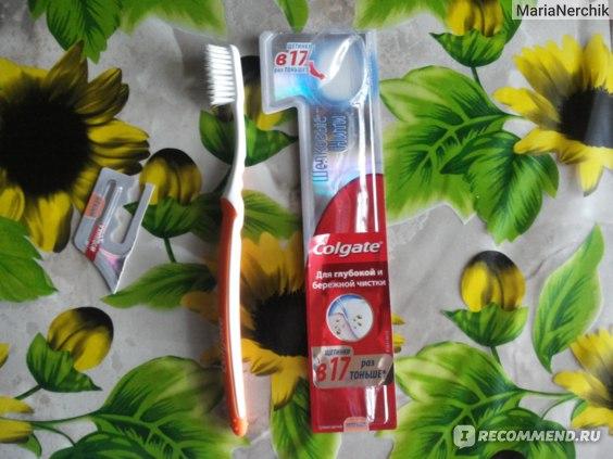 Зубная щетка Colgate Шелковые нити фото