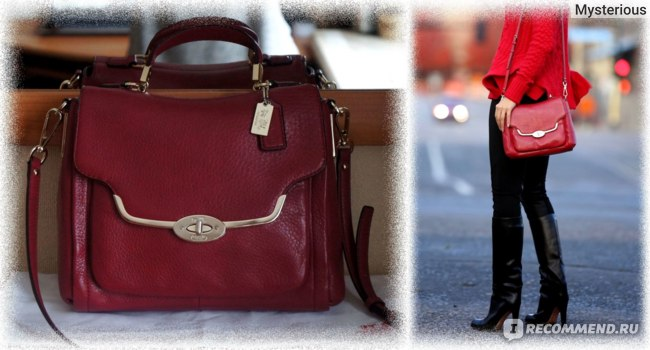 Сумка COACH Madison Sadie Flap Satchel - «Сумка COACH Madison Sadie ... 7a881a5ff43