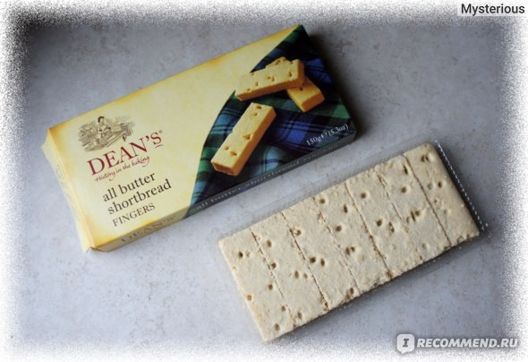 Печенье DEAN'S All Butter Shortbread Fingers