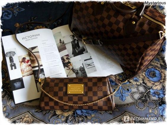 Сумка Louis Vuitton Speedy Bandouliere 30 и Сумка Сумка Louis Vuitton Eva