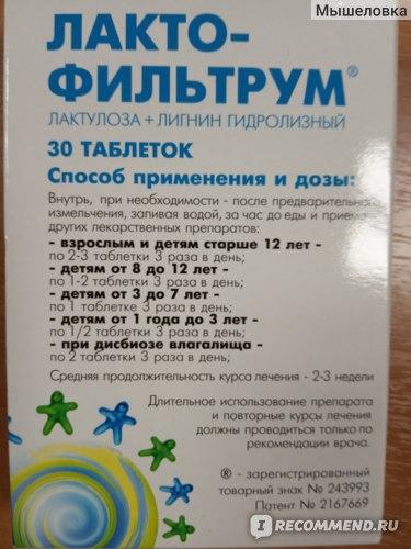 Пила по 2 таблетки 3 раза в день в течение 5 дней