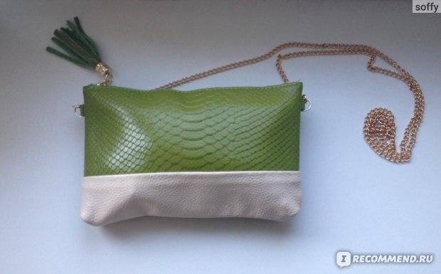 Сумка через плечо Aliexpress Free shipping Genuine leather Tassel handbags shoulder bags messenger bag Day clutch Chain bag small bag women's clutches CN168 фото