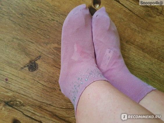 Носочки для педикюра Sosu С ароматом лаванды фото